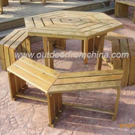 公园桌椅,组合桌椅,室外休闲桌椅