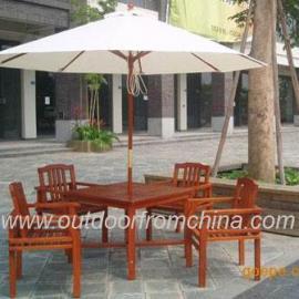 环保木制桌椅,园林室外桌椅,园林桌椅