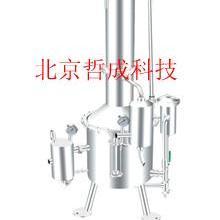 不锈钢塔式蒸汽重蒸馏水器
