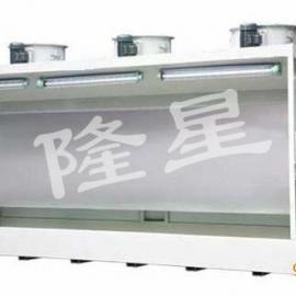 多工位水帘喷漆机