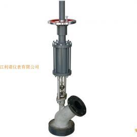 一体式气动釜底阀|直流型气动釜底阀