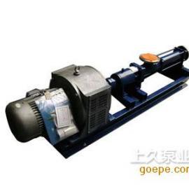 电磁调suxing螺杆泵