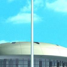25米高杆灯安装