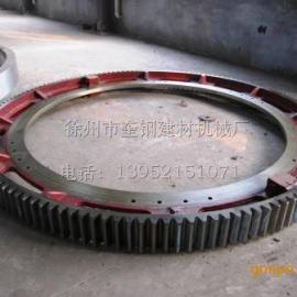 转鼓造粒机大齿轮 滚圈 托轮配件