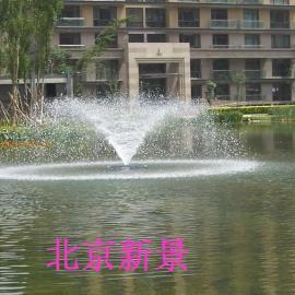 漂浮增氧曝气喷泉