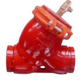 G81H沟槽式卡箍过滤器