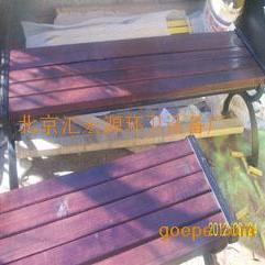 木质座椅 木头椅子 防腐木椅子