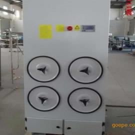 制药厂单机滤筒式集尘机