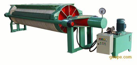 800耐高压圆形滤板压滤机