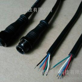 风力互补路灯防水连接器