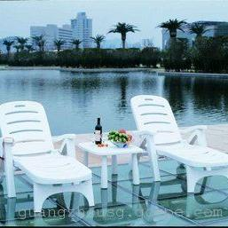 塑料躺椅,塑料沙滩椅,户外休闲躺椅