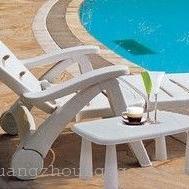 豪华庭院躺椅,塑料躺椅现货,直销塑料躺椅