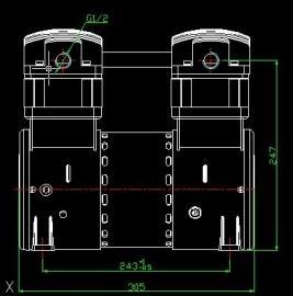 无油压缩机
