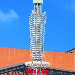 公园太阳能路灯|高杆灯