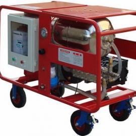 工业用高压清洗机水泥厂高压水枪预热器清堵窑尾清堵
