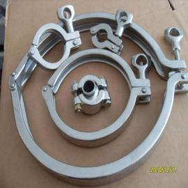 MY DRAM不锈钢精铸卡箍Tri-clamp 田野阀门制造生产规格齐全TYKG