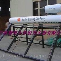 卧式太阳能副水箱安装图