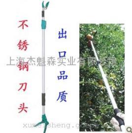 3米高空伸缩摘果剪/高枝剪采果剪/龙眼剪/荔枝剪葡萄