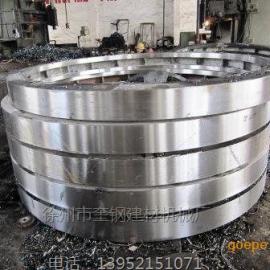 转鼓滚筒造粒机铸钢箱型滚圈