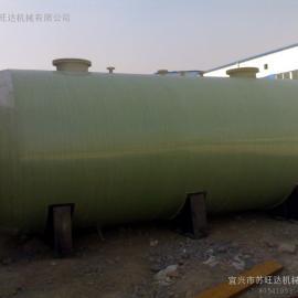 100吨玻璃钢化粪池|100T玻璃钢化粪池|100m3玻璃钢化粪池