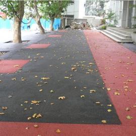停车场透水混凝土/彩色透水地坪/彩色混凝土
