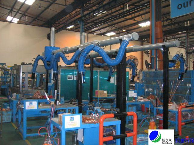 焊接烟尘中央处理系统