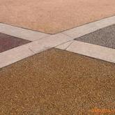 拜石露骨料透水地坪-透水混凝土-彩色透水地坪�S家