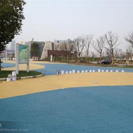 拜石直供透水地坪-彩色透水地坪-透水混凝土�S家