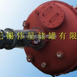 制造60立方钢衬塑储罐优质品牌伟星制造防腐容器