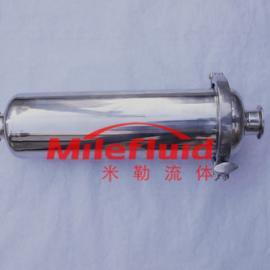 卫生级直通过滤器,食品级管道过滤器
