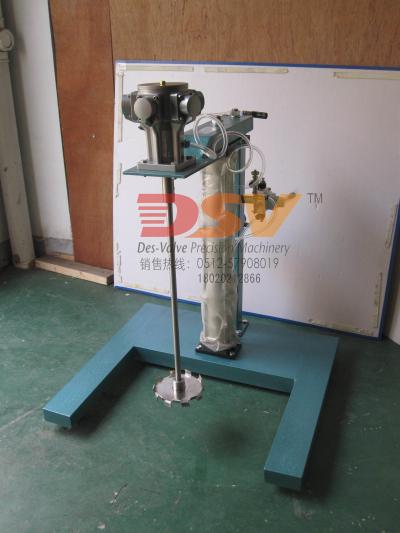 胶水气动搅拌机 不锈钢气动防爆升降分散机