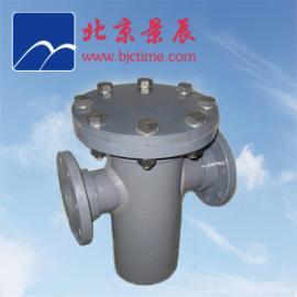 管道PVC篮式过滤器  防腐性能好 维护简单方便