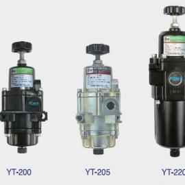 韩国YTC空气过滤减压阀YT-200BN11现货