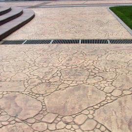 上海压印混凝土/压花混凝土/压印混凝土厂家