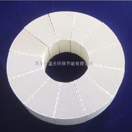 扇型陶瓷蓄热体