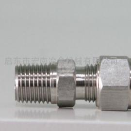 启东宏南*生产各种锥密封焊接式管接头(31.5MPa)