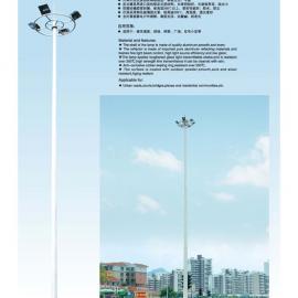 特价销售户外中杆灯,12米中杆灯,含中杆灯地龙