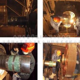 钢铁企业烧结机轴类磨损在线修复材料
