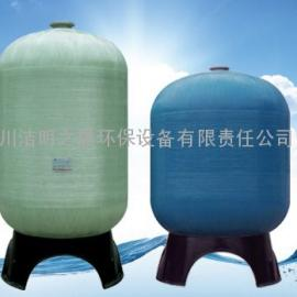 洁明小型(玻璃钢罐;水处理玻璃钢罐)