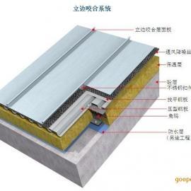 立边咬合系统多功能fu合铝mei锰屋面