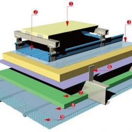 铝mei锰金属屋面-直立锁缝多层fu合型屋面