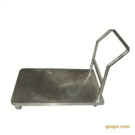 不锈钢手推车,不锈钢平板车