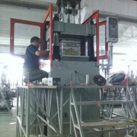 环保风能发电机定子包胶*BMC柱塞立式注塑机