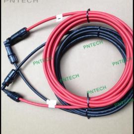 带连接器太阳能光伏电缆/线束