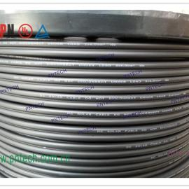 澳洲标准:TUV认证太阳能光伏电缆双芯扁线/盘装100米