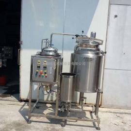 *新设计牛奶杀菌机、鲜奶杀菌机、巴氏杀菌机的清洗RY-BS-100L