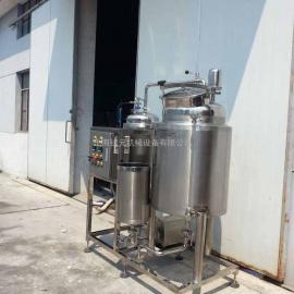 小型牛奶巴氏杀菌机 液体饮料杀菌设备