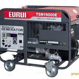 原装日本东洋EURUI汽油大功率发电机TSN19000E