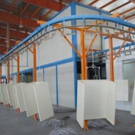 开关柜喷粉生产线xytz-058