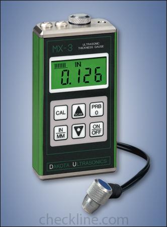 达科他超声波精密管壁厚度测厚仪MX-3